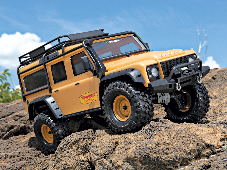 Traxxas TRX-4 Land Rover Defender 110 Tan Edition LWB C-TRX82056-4TAN